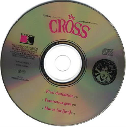 "The Cross Final Destination CD single (CD5 / 5"") German CROC5FI110234"