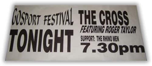 The Cross Gosport Concert Poster poster UK CROPOGO396739