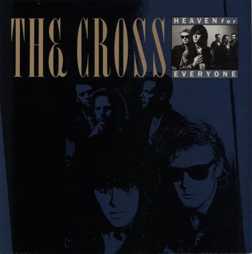 "The Cross Heaven For Everyone 12"" vinyl single (12 inch record / Maxi-single) UK CRO12HE21462"