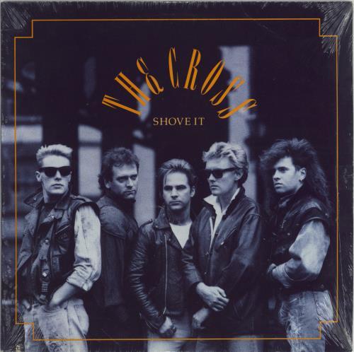 The Cross Shove It - Sealed vinyl LP album (LP record) US CROLPSH767620