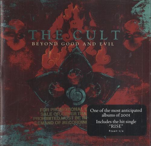 The Cult Beyond Good & Evil CD album (CDLP) US CLTCDBE472570