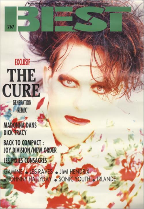 The Cure Best poster French CURPOBE423618