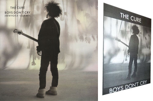 """The Cure Boys Don't Cry + poster 12"""" vinyl single (12 inch record / Maxi-single) UK CUR12BO430652"""