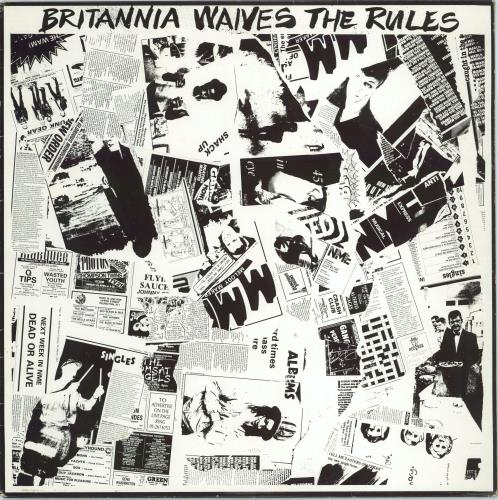 "The Cure Britannia Waives The Rules 12"" vinyl single (12 inch record / Maxi-single) Australian CUR12BR344056"