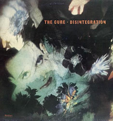 The Cure Desintegracion vinyl LP album (LP record) Argentinean CURLPDE238605