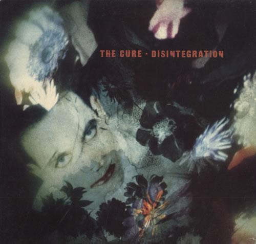 The Cure Disintegration vinyl LP album (LP record) UK CURLPDI45544