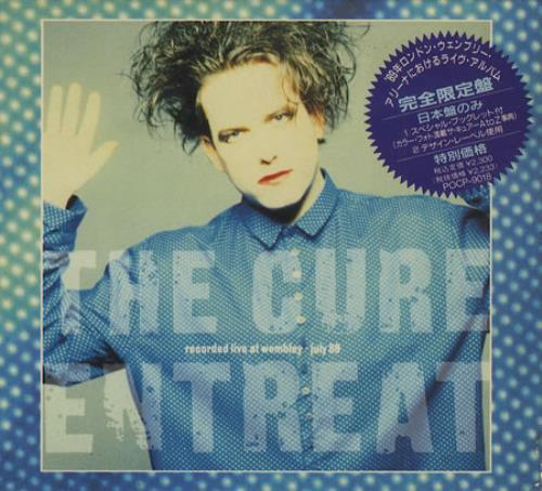 The Cure Entreat Japanese CD album (CDLP)