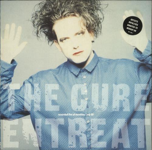 The Cure Entreat vinyl LP album (LP record) Dutch CURLPEN727602