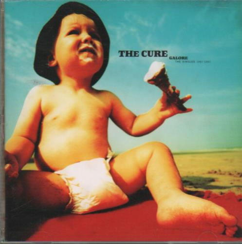 The Cure Galore - The Singles CD album (CDLP) Japanese CURCDGA649019