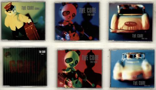 The Cure Gone / Mint Car / The 13th 2-CD single set (Double CD single) UK CUR2SGO705196