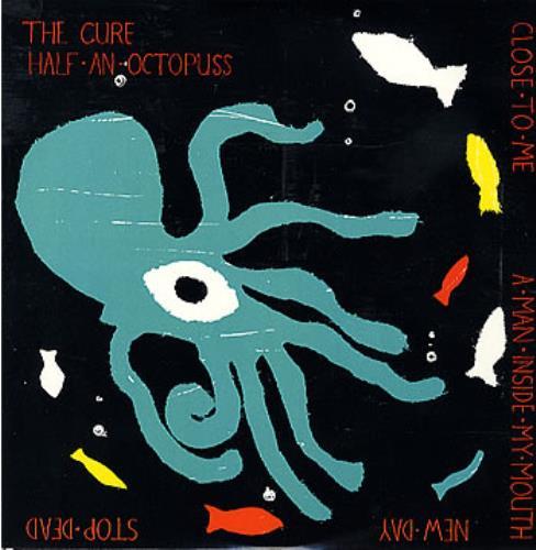 "The Cure Half An Octopuss EP 10"" vinyl single (10"" record) UK CUR10HA06989"