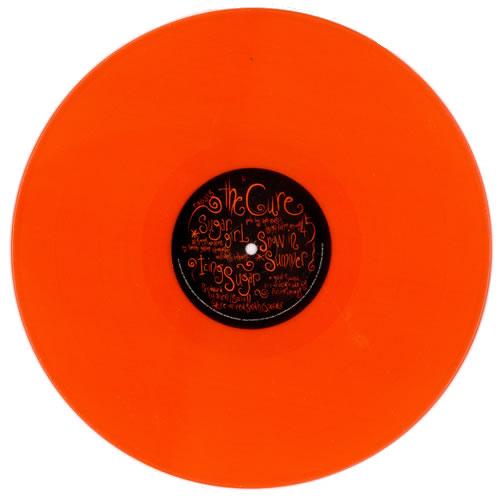 The Cure Kiss Me Kiss Me Kiss Me + Orange Vinyl Bonus Disc 3-LP vinyl record set (Triple Album) UK CUR3LKI516564