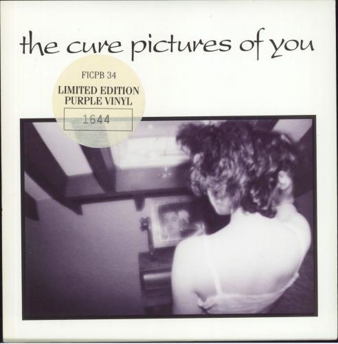 The Cure Pictures Of You Purple Vinyl Uk 7 Quot Vinyl Single