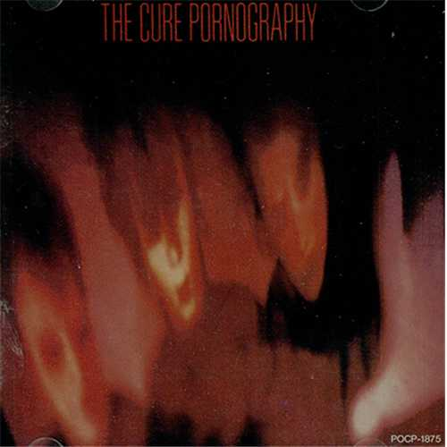 The Cure Pornography Japanese Cd Album Cdlp 408394