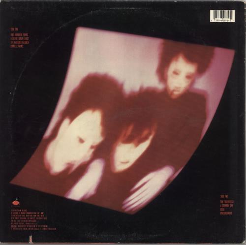 The Cure Pornography vinyl LP album (LP record) US CURLPPO735073