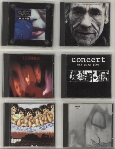 The Cure Quantity of 12 CD Albums CD album (CDLP) UK CURCDQU697014