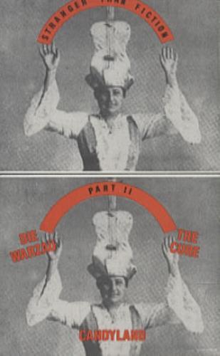 The Cure Stranger Than Fiction 2 cassette single US CURCMST113511