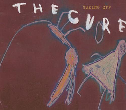 "The Cure Taking Off CD single (CD5 / 5"") UK CURC5TA306906"