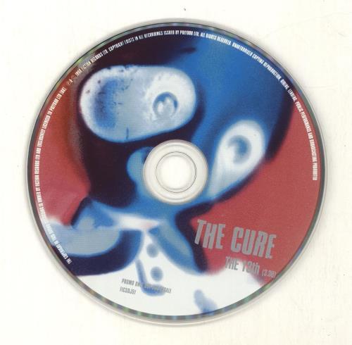 """The Cure The 13th - 3.39 CD single (CD5 / 5"""") UK CURC5TH691274"""