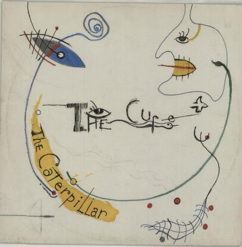 "The Cure The Caterpillar - EX 12"" vinyl single (12 inch record / Maxi-single) UK CUR12TH651605"