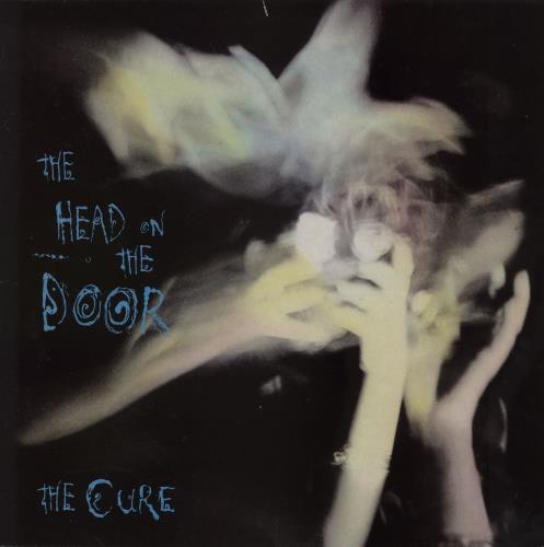 The Cure The Head On The Door + lyric inner vinyl LP album (LP record) UK CURLPTH113598