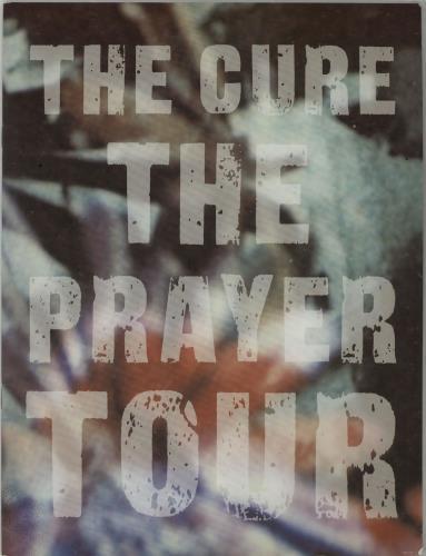 The Cure The Prayer Tour tour programme UK CURTRTH63419