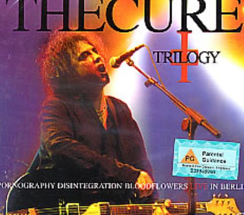 The Cure Trilogy - Live In Berlin Singapore Video CD (276574)