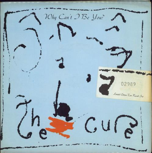 """The Cure Why Can't I Be You? - Double Pack - Sealed 7"""" vinyl single (7 inch record) UK CUR07WH367160"""