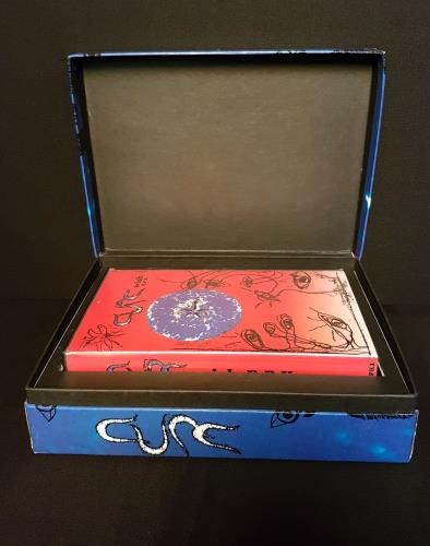 The Cure Wish - Promo Box Set with personalized CD box set UK CURBXWI06176