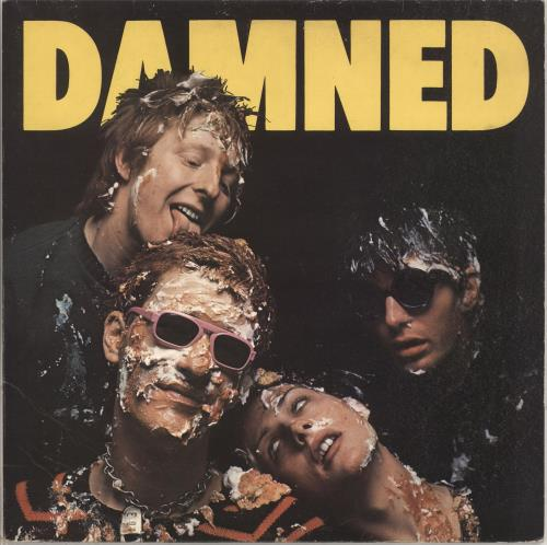 The Damned Damned Damned Damned - Hot Rods Sleeve vinyl LP album (LP record) UK DAMLPDA18367