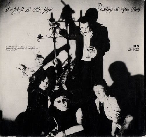 "The Damned Dr. Jekyll & Mr. Hyde 7"" vinyl single (7 inch record) US DAM07DR139958"