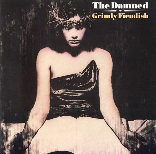 "The Damned Grimly Fiendish - Gatefold sleeve 7"" vinyl single (7 inch record) UK DAM07GR99259"
