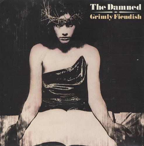 "The Damned Grimly Fiendish 7"" vinyl single (7 inch record) UK DAM07GR341130"