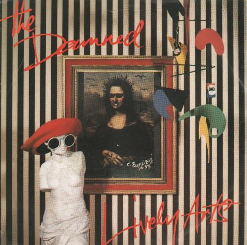 "The Damned Lively Arts - Green Vinyl 7"" vinyl single (7 inch record) UK DAM07LI125714"