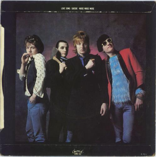 """The Damned Love Song - Dave Vanian Sleeve 7"""" vinyl single (7 inch record) UK DAM07LO464802"""