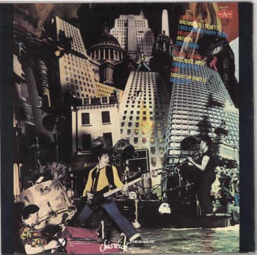 The Damned Machine Gun Etiquette vinyl LP album (LP record) New Zealand DAMLPMA728101