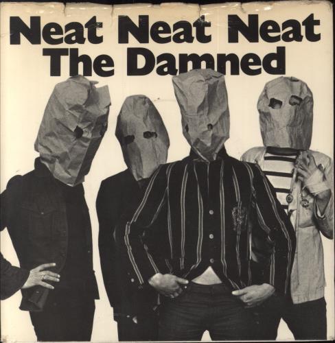 "The Damned Neat Neat Neat - 1st + Sleeve - VG 7"" vinyl single (7 inch record) UK DAM07NE737018"