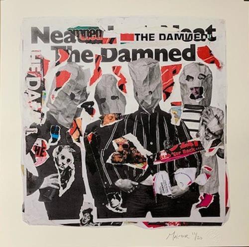 The Damned Neat Neat Neat - Punk Art Print artwork UK DAMARNE718882