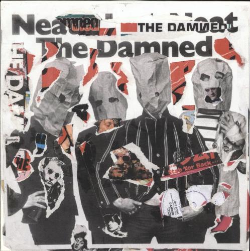"The Damned Neat Neat Neat - Punk Art sleeve 7"" vinyl single (7 inch record) UK DAM07NE708119"