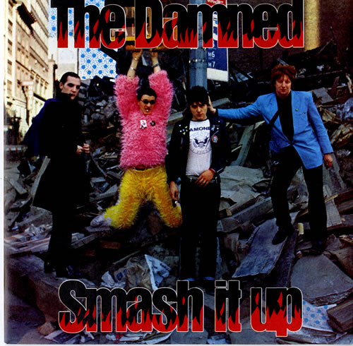 "The Damned Smash It Up - Red vinyl 7"" vinyl single (7 inch record) UK DAM07SM199118"