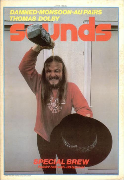 The Damned Sounds magazine UK DAMMASO523448