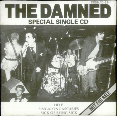 The damned singles