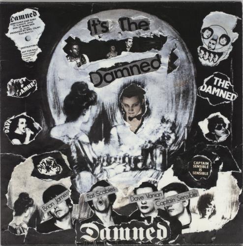 "The Damned Stretcher Case Baby - Punk Art Sleeve 7"" vinyl single (7 inch record) UK DAM07ST757452"