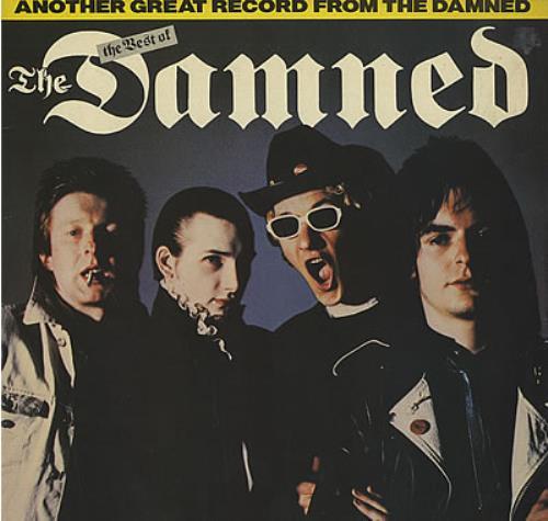 The Damned The Best Of The Damned  - Test Pressing vinyl LP album (LP record) UK DAMLPTH382780