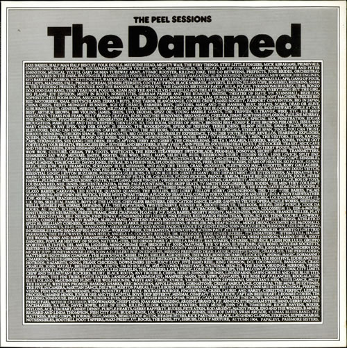 """The Damned The Peel Sessions 12"""" vinyl single (12 inch record / Maxi-single) UK DAM12TH129187"""