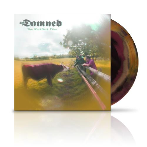 """The Damned The Rockfield Files - Psychedelic Vinyl 12"""" vinyl single (12 inch record / Maxi-single) UK DAM12TH754428"""