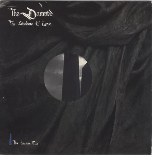 "The Damned The Shadow Of Love 12"" vinyl single (12 inch record / Maxi-single) UK DAM12TH102273"