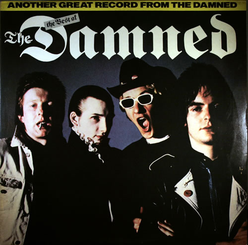 The Damned The Best Of The Damned Red Vinyl Uk Vinyl Lp