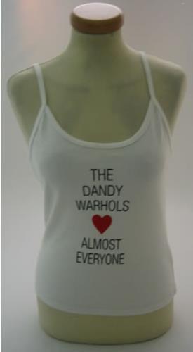 The Dandy Warhols The Dandy Warhols Love Almost Everyone t-shirt UK TDWTSTH373512