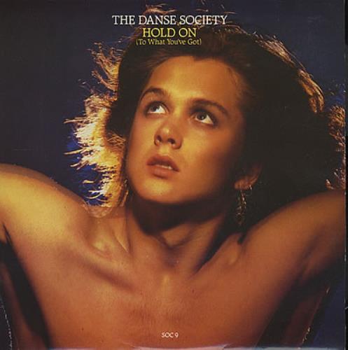 "The Danse Society Hold On 7"" vinyl single (7 inch record) UK DSE07HO109855"